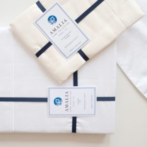 Suave Sateen Sheeting Collection by Amalia