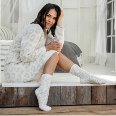 CozyChic Barefoot In The Wild Robe by Barefoot Dreams