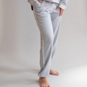 Blair French Terry Lounge Pants with Satin Trim by Pj Harlow