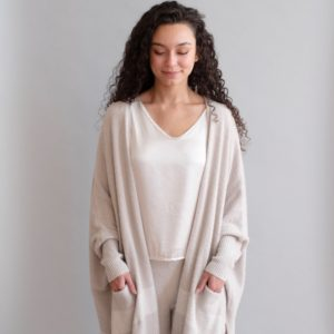 Cozy Chic Lite Cliffside Wrap by Barefoot Dreams