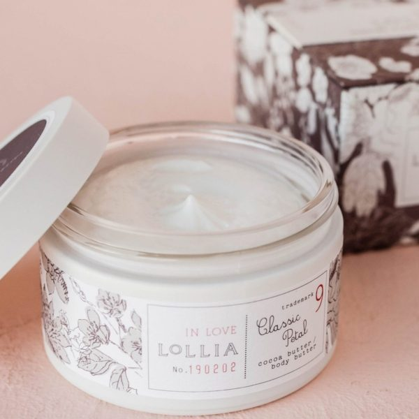 In Love Classic Petal Whipped Body Butter by Lollia