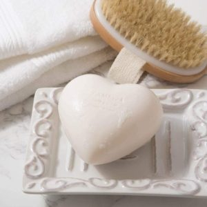 French Heart Shaped Shea Butter Soap