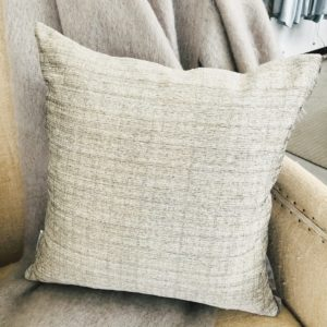 Manipur Oyster Decorative Pillow by Designer's Guild