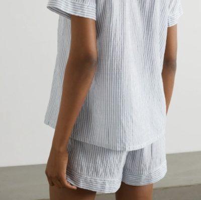 Nautico Stripe Shortie PJ Set