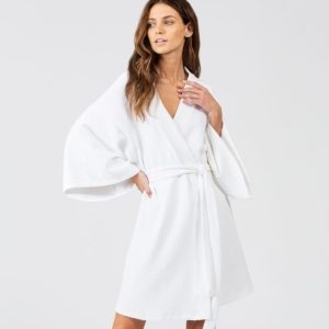 Zen Short Spa Robe by Eberjey