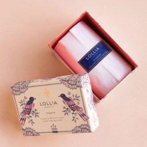 Imagine Perfumed Shea Butter Soap by Lollia
