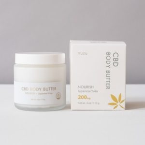 Japanese Yuzu Scented CBD Nourish Body Butter