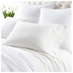 Comfy Cotton Dove White Sheet Set by Pine Cone Hill