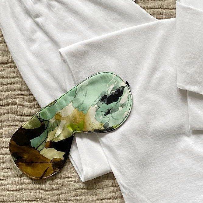 Watercolor Silk Sleep Mask