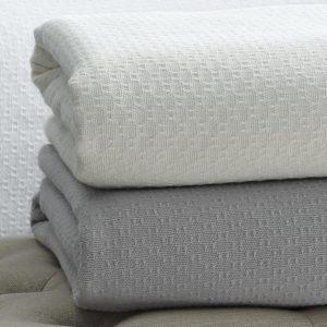 Corino Cotton Blanket by Sferra