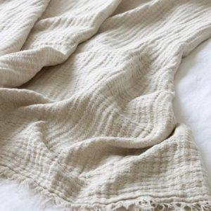 Hampton Linen Throw