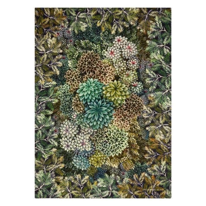 Madhya Moss Merino Wool Throw by Designers Guild