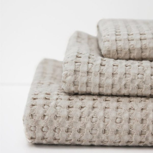 Pousada Waffle Texture Towels by Abyss