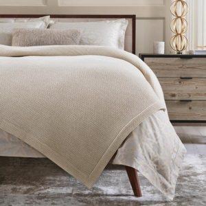 Talida Merino Wool Blanket by Sferra