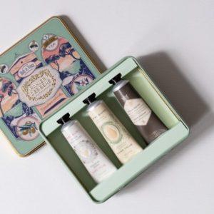 French Hand Cream Sampler Tin Gift Set